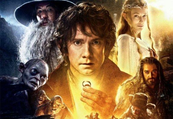 Bilbo Bolsón va camino a una aventura...