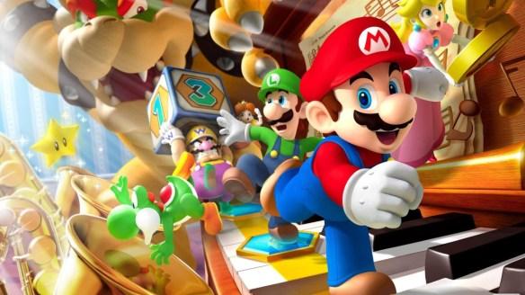 Mario Party diez mil.