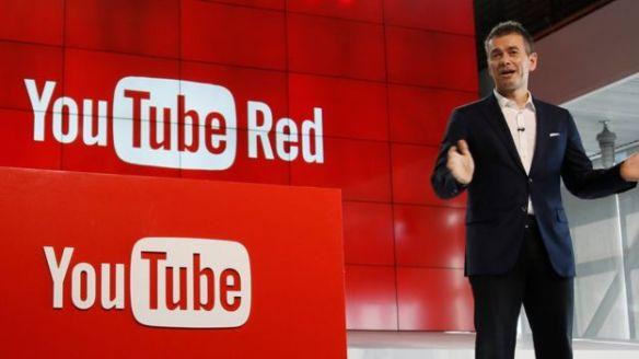 La presentación de YT Red...